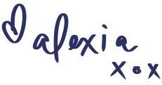 alexia pinchbeck signature